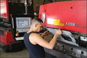 RG PRESS BRAKE | PRESS BRAKE CONTROLS | RETROFIT | BACK GAUGE | CAD